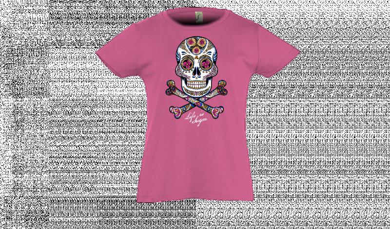 e1285bef84dad T-Shirt T shirts Enfant Skull Personnalisé à compléter ...